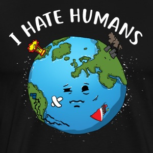 I hate people / environmental protection - Men's Premium T-Shirt