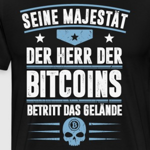 Bitcoins - Men's Premium T-Shirt