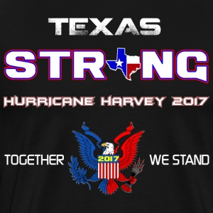 Sterke Texas Harvey 2017 - Mannen Premium T-shirt