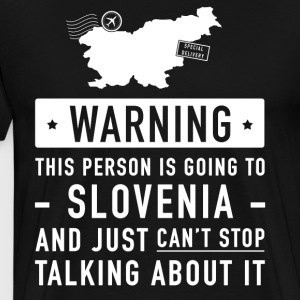 Original Slovenia holiday gift - Men's Premium T-Shirt