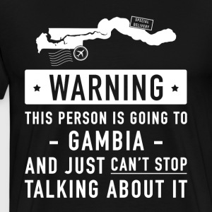 Original Gambia holiday gift - Men's Premium T-Shirt