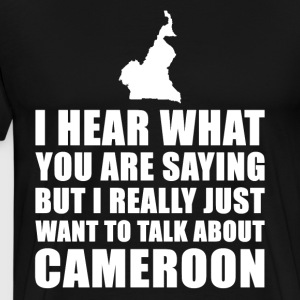 Funny Cameroon holiday gift idea - Men's Premium T-Shirt