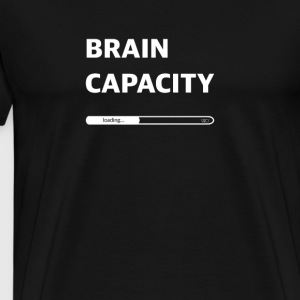 Brain capacity loading - Men's Premium T-Shirt