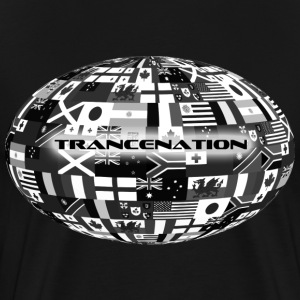 trance nation - Herre premium T-shirt