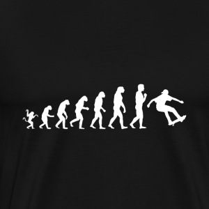 Evolution de patins - T-shirt Premium Homme