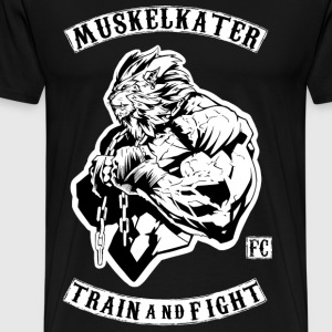 Muscle Stench Fight Club - Train And Fight - Men's Premium T-Shirt