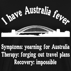 I like Australia fever - Sydney - traveling - Men's Premium T-Shirt