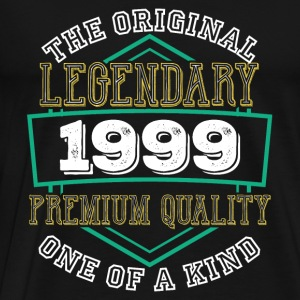 Original Legendary 1999 Premium Quality One Kind - T-shirt Premium Homme