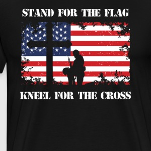 Stand For The Patriotic Kneel For The Cross Patriot - Men's Premium T-Shirt