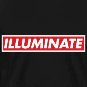 Illuminate - Premium-T-shirt herr