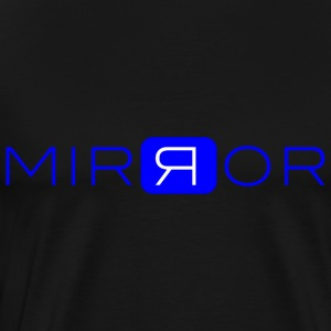 MIRROR blue - Premium-T-shirt herr