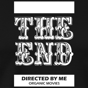 Theendmovie wite - Men's Premium T-Shirt