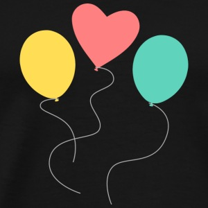 Balloons heart balloon - Men's Premium T-Shirt