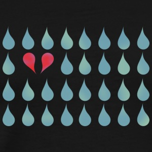 Two Drops in Love - Männer Premium T-Shirt
