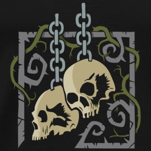 Skulls in Chains - Men's Premium T-Shirt