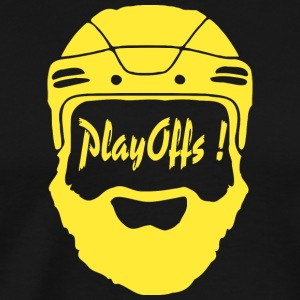 Playoffs ! Yellow - T-shirt Premium Homme
