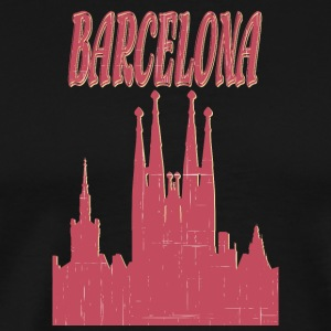 Barcelona City - Herre premium T-shirt