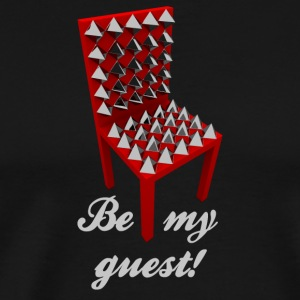 Be my guest! (Not.) - Premium T-skjorte for menn
