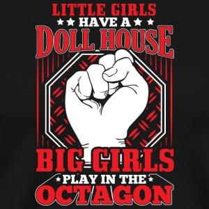 MMA LITTLE GIRLS OCTAGON - Männer Premium T-Shirt