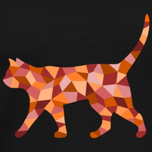 Cat cubist - Men's Premium T-Shirt