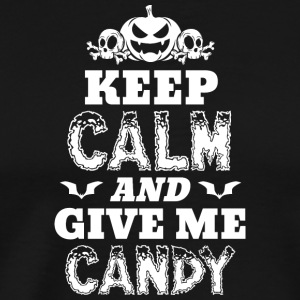 Scary Halloween Costume Shirt Keep Calm - Men's Premium T-Shirt