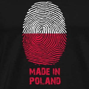 Poland flag - Made in Poland - gift - coat of arms - Men's Premium T-Shirt