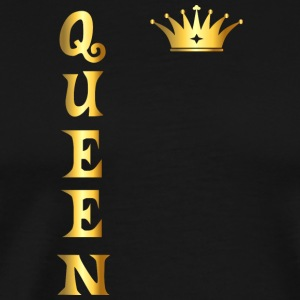 Queen T Shirt Relationship Wife Girlfriend Gift - Men's Premium T-Shirt