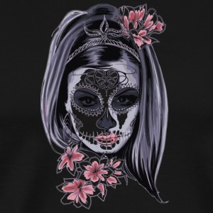 Woman with mask - Men's Premium T-Shirt