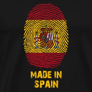 Spanje Flag - Made in Spain - Heden - armen - Mannen Premium T-shirt