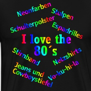 suchbegriff 39 80er jahre party 39 t shirts online bestellen spreadshirt. Black Bedroom Furniture Sets. Home Design Ideas