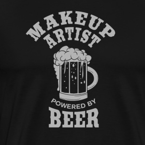 MAKEUP ARTIST powered by BEER - Männer Premium T-Shirt