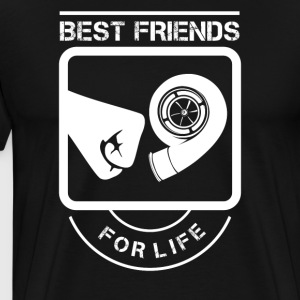 Best Friends Turbolader - Männer Premium T-Shirt