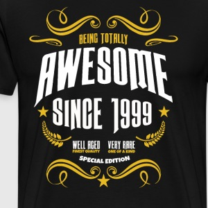Being Totally Awesome Since 1999 - Men's Premium T-Shirt