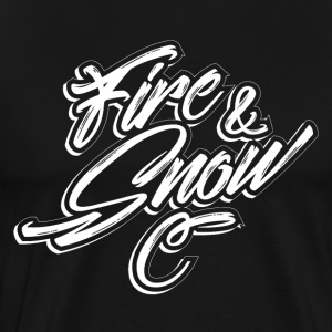 FIRE & SNOW - T-shirt Premium Homme