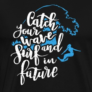 Surf into the future - Men's Premium T-Shirt