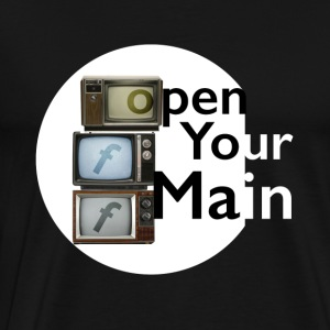open you main - Camiseta premium hombre