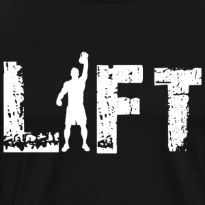 Kettlebell lift - Men's Premium T-Shirt
