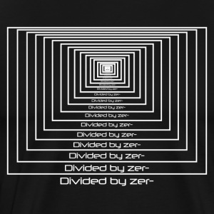 Divided by zero - Men's Premium T-Shirt