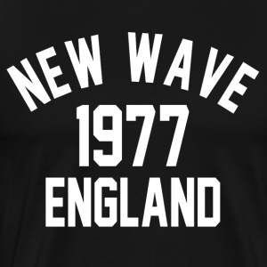 New Wave 1977 England - Herre premium T-shirt