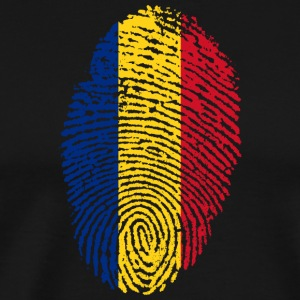Fingerprint - Romania - Men's Premium T-Shirt