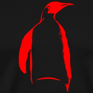 Penguin - red - Men's Premium T-Shirt