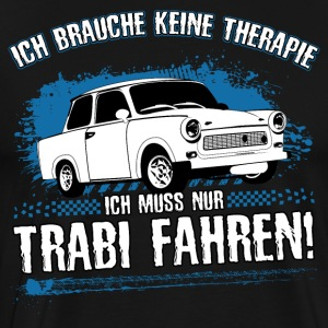 Trabi driving is my therapy! - Men's Premium T-Shirt