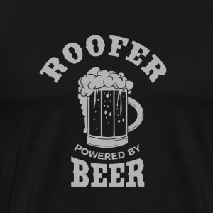 ROOFER powered by BEER - Männer Premium T-Shirt