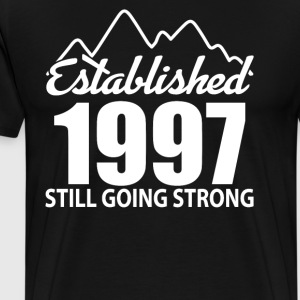 Established 1997 and still going strong - Men's Premium T-Shirt
