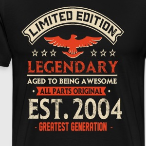 Limited Edition Legendary Est 2004 - Men's Premium T-Shirt