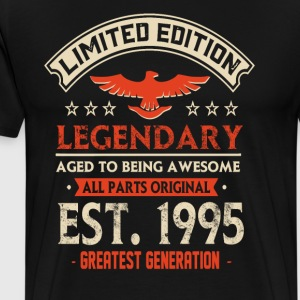 Limited Edition Legendary Est 1995 - Männer Premium T-Shirt