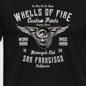 Wheels Of Fire: Motorradclub San Francisco 1969! - Männer Premium T-Shirt
