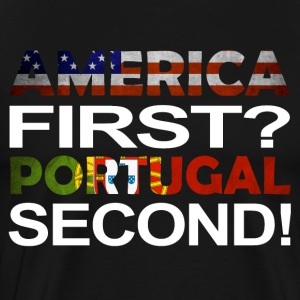 America first Portugal second - Men's Premium T-Shirt