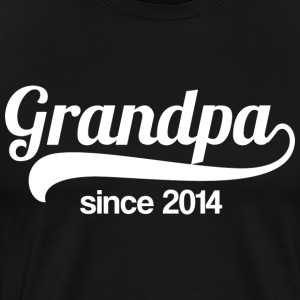 Grandpa since 2014 - Men's Premium T-Shirt