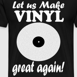 Vinyl Great light - Männer Premium T-Shirt
